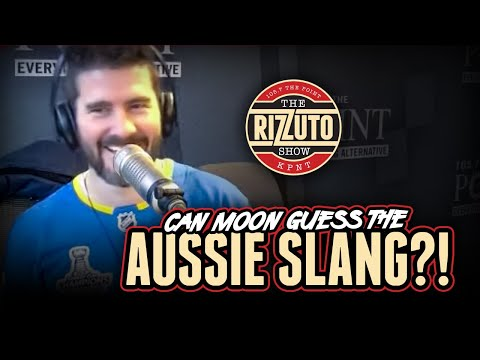 Can Moon Guess The Aussie Slang? [Rizzuto Show]