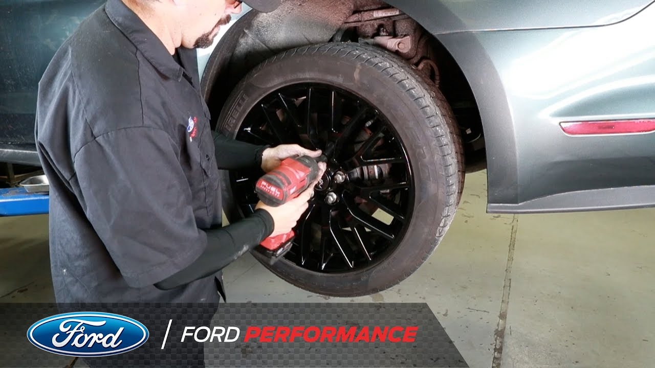 Mustang Half Shaft Installation | Performance Parts | Ford Performance