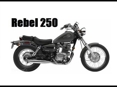 honda rebel 250 full review youtube. Black Bedroom Furniture Sets. Home Design Ideas