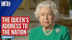 Queen Elizabeth II's coronavirus address | LBC