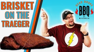 How to Smoke a Brisket on the Traeger Using Black Cherry Pellets