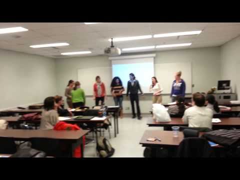 Gangnam Style Seneca College presentation