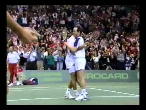 Davis Cup 1992 Final Sampras McEnroe vs Hlasek Rosset - 22/22