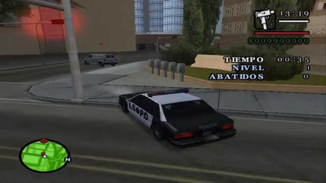GTA San Andres - CJ trabaja de Policia - YouTube: http://www.youtube.com/watch?v=3n7sFaAsxZM