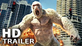 RAMPAGE Trailer (2018) Dwayne Johnson