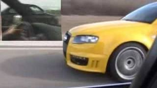 JHM All motor 300+whp B6 S4 V8 Vs. VF Supercharged B7 S4 V8 - SIDE BY SIDE PULLS, 2nd, 3rd and 4th.