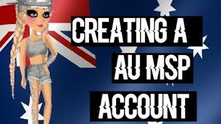 Die Schaffung einer AU-MSP-Account ♥