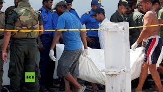Terribles imágenes tras el atentado en la iglesia de San Sebastián, en Negombo (Sri Lanka)