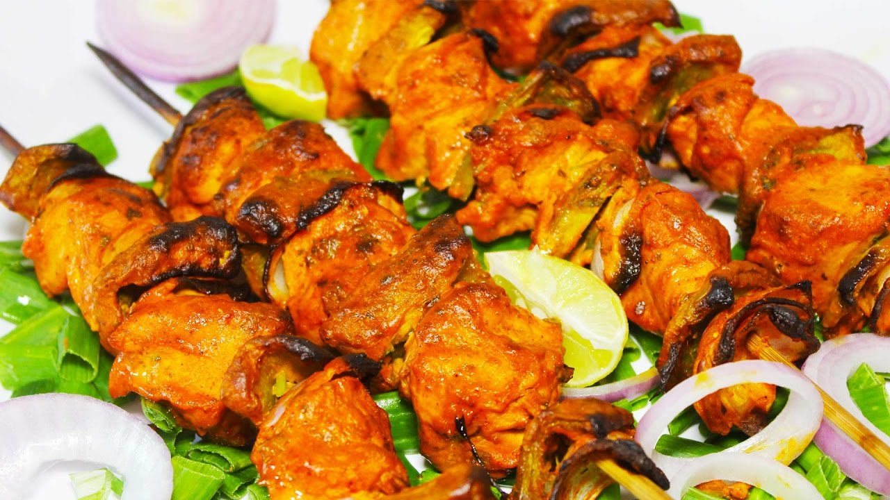 Chicken Tikka Recipe | Restaurant Style Chicken Tikka ...