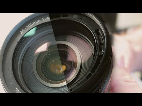 Clean the inside of your Canon lens - Episode 7