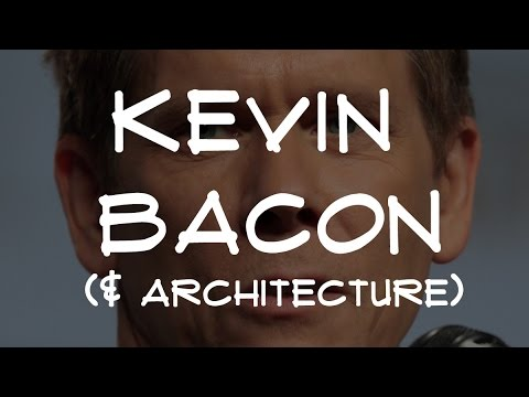 7 Architecture Facts pt.41 | Kevin Bacon, Perspective & Gaud