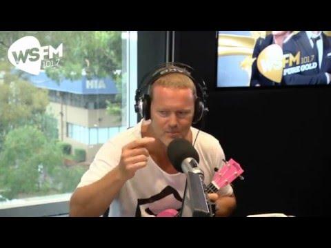 Craig McLachlan with Jonesy & Amanda   WS FM101.7