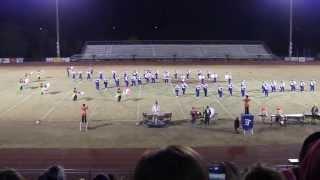 Forrest Rocket Band of Blue - 2013 State Finals