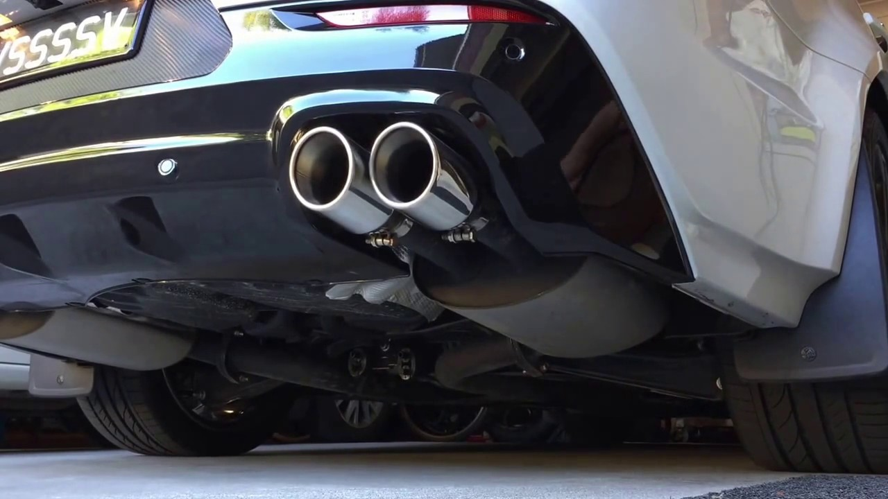 VF SSV Redline 2015 Exhaust Sound - Walkinshaw 310 kw Power Pack