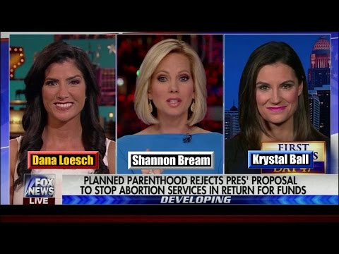 Dana Loesch v. Krystal Ball Debate Planned Parenthood Funding