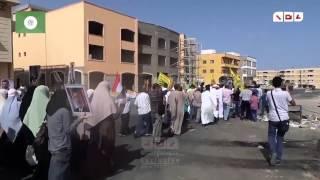 رصد | برج العرب تتحدى امن الانقلاب بمسيره صباحيه حاشده رفضا لحكم العسكر