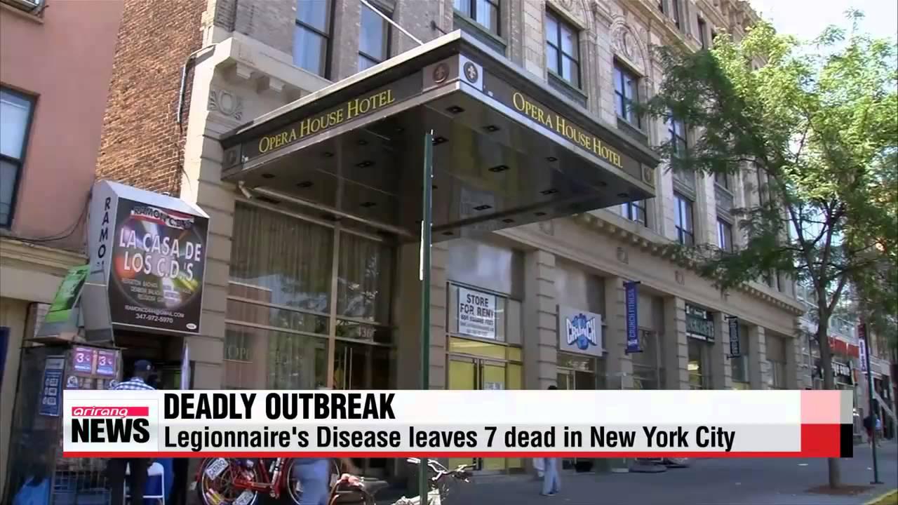 Legionnaire's disease outbreak kills elderly woman, leaves six people hospitalized in 11 days