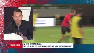 PSG : La préparation physique crée des tensions au sein du staff et des joueurs