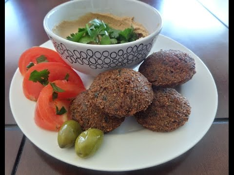 Traditional Palestinian Falafel