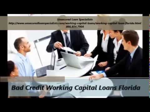 Unsecured Working Capital Loan Specialists in Florida