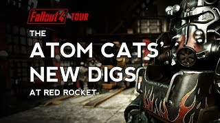 Fallout 4 - The Atom Cats New Digs at Red Rocket