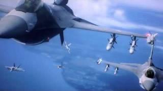 Ace Combat Blurry