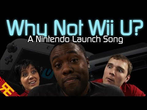 Why Not Wii U: A Nintendo Launch Song (Game Parody w/Black Nerd Comedy's Andre)