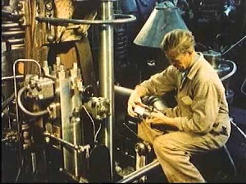 2 Stroke Marine Diesel Engine MAN B&W: Operating Principle (Every engineer must see this)