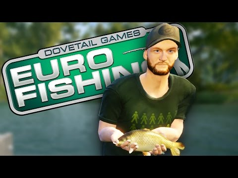 Euro Fishing Gameplay | TALES OF THE WORST FISHERMAN | Let's Play Euro Fishing Game and Review