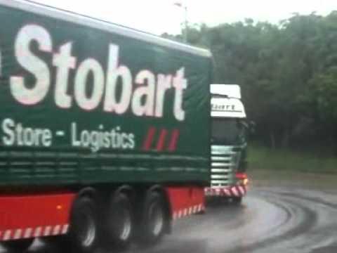 Eddie Stobart convoy (edit)