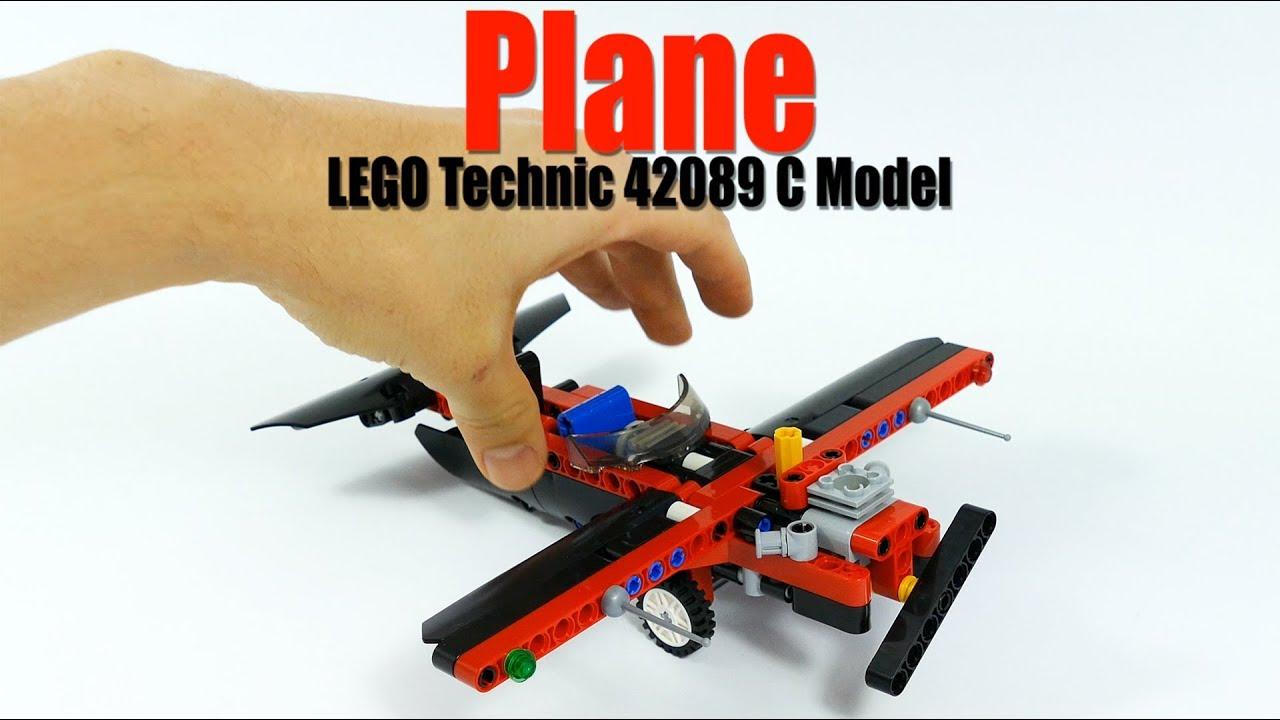 LEAKs レゴ テクニック パワーボート 42089 組みかえ作品 Plane