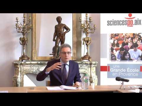 Conférence de presse du directeur Rostane Mehdi - Sciences Po Aix