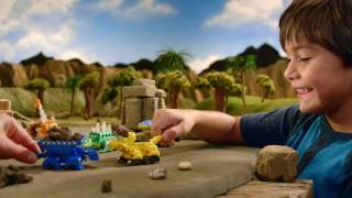 DINOTRUX ΟΧΗΜΑΤΑΚΙΑ – Μισοί Δεινόσαυροι Μισοί Φορτηγά