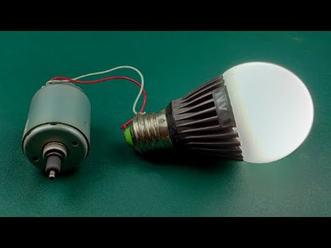 Real Ideas New Technology Homemade Free Energy Generator from DC motor 100%
