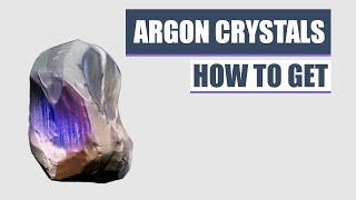 How To Get Argon Crystals - Warframe Beginners Guide