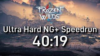 Horizon Zero Dawn Speedrun: The Frozen Wilds NG+ Ultra Hard in 40:19 [Former WR]