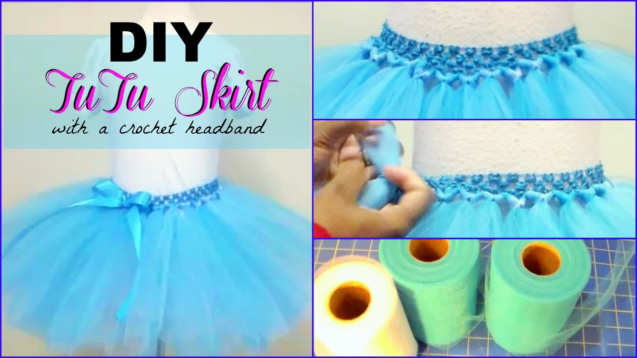 How to make a homemade tutu skirt
