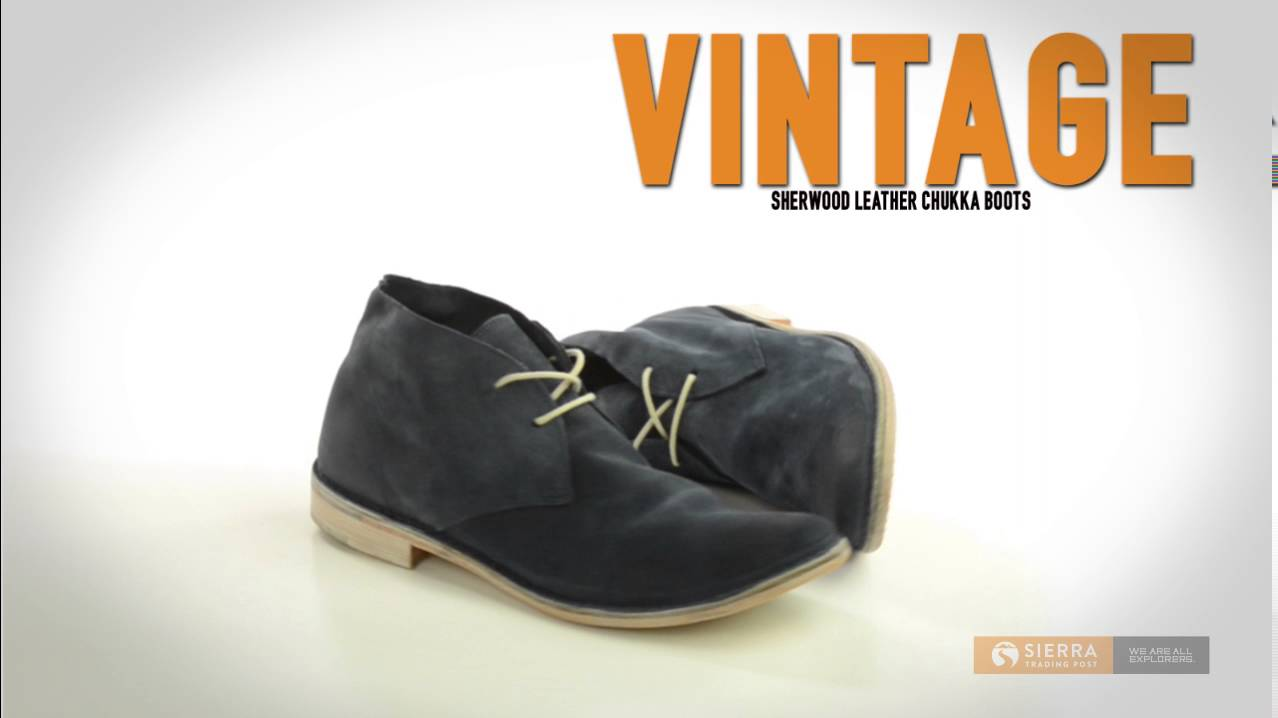 65530a1c8a0 Vintage Shoe Company Sherwood Chukka Boots - Leather (For Men) - YouTube