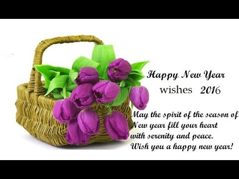 c67a52bfec8c4 Happy New Year 2018 Day with Fresh Flowers   gifts! WhatsApp Video ...
