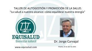 TALLER DE AUTOGESTIÓN Y PROMOCIÓN DE LA SALUD. PARTE I