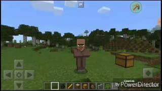 Стань Просто жителем [ Мод на превращение в любых мобов] В Minecraft Pe