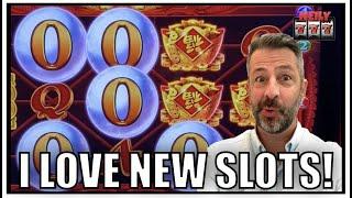 It's a brand new slot!! Jackpot Orbs at San Manuel Casino!