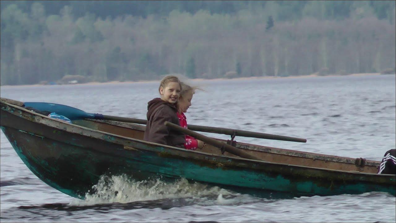 Лодка пвх с нднд Азимут 330 , мотор Ямаха 15 л.с. - YouTube