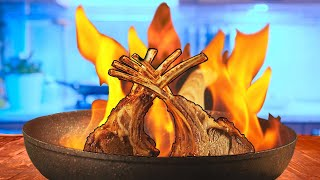 How to Cook Flambé Safely / Top-3 Flambé recipes.SUB ENG, FR, ESP, IT, 中文