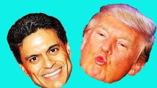 Fareed Zakaria Doubles Down On His Stupid Comments About Trump Being Presidential