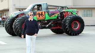 Ellen's First Monster Truck Experience