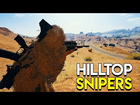 Hilltop Snipers – PlayerUnknown's Battlegrounds (PUBG)