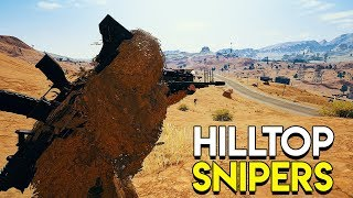 Hilltop Snipers - PlayerUnknown's Battlegrounds (PUBG)