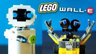 Lego Wall-E and Eve - MOC Animation