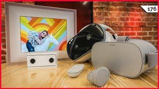 VR Battle: Oculus Go vs. Lenovo Mirage Solo! AURA Digital Photo Frame, Mirage VR180 Camera Review!